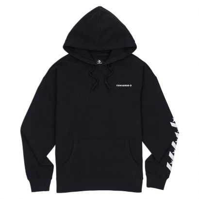 CONVERSE REPEATED STAR CHEVRON PO HOODIE