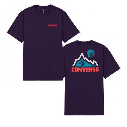 MOUNTAIN MOON TEE GRAND PURPLE