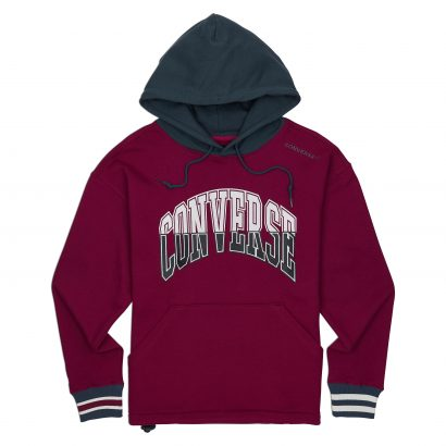 CONVERSE TWISTED VARSITY PULLOVER HOODIE